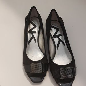 Anne klein sport peep toe wedge. Size women's 6
